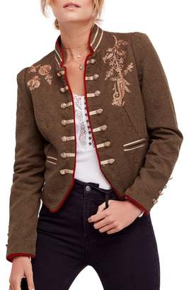 Free People Lauren Band Jacket