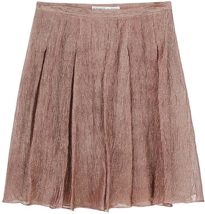 Rodarte for O.C. / Pleated Metallic Skirt