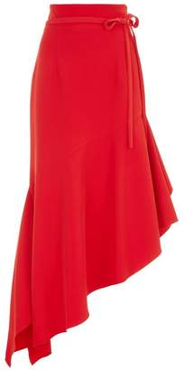 Milly Charlotte Asymmetric Midi Skirt