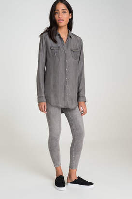 Ardene Long Chambray Shirt