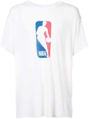 The Elder Statesman X Nba NBA logo T-shirt