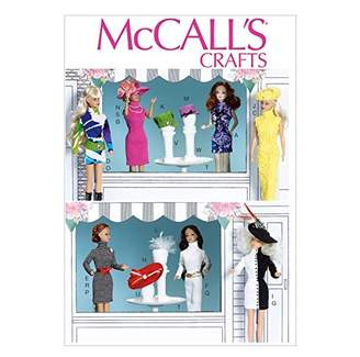"""Mccall's McCalls Easy Sewing Pattern 7067 11.5"""" Doll Clothes & Accessories"""