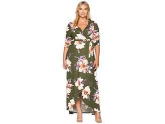 Kiyonna Meadow Dream Maxi Dress Women's Dress