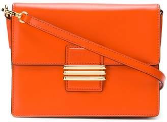 Etro embroidered strap satchel