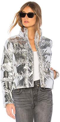 by the way. Stella Metallic Puffer Jacket