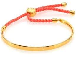 Monica Vinader Fiji Friendship Bracelet/Peach