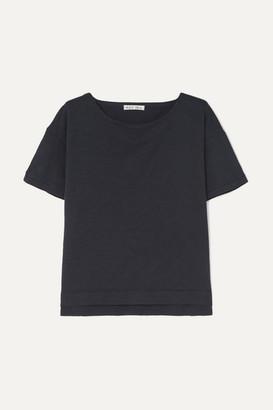Alex Mill Slub Cotton-jersey T-shirt - Navy