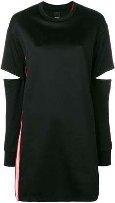 Pinko cut-out sleeve dress