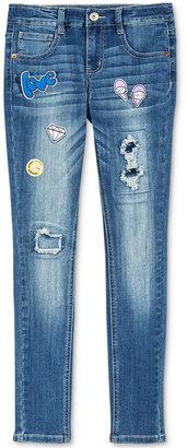 Vanilla Star Patch Skinny Jeans, Big Girls (7-16) $44 thestylecure.com