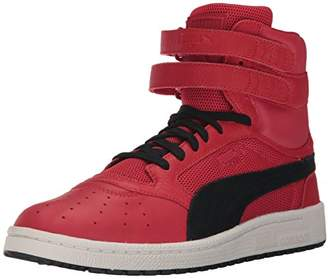 Puma Men's Sky II Hi Color Blocked Lthr Sneaker