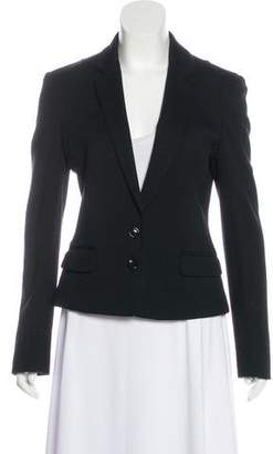 Dolce & Gabbana Knit Notch-Lapel Blazer