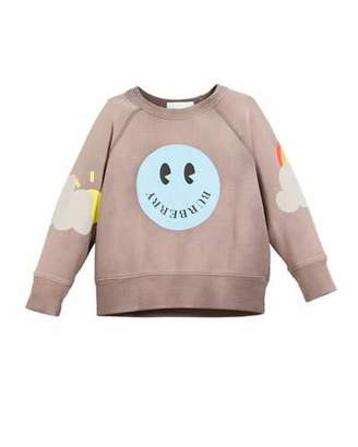 Burberry Smiley Graphic Shirt, Size 4-14