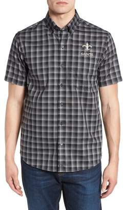 Cutter & Buck New Orleans Saints - Fremont Regular Fit Check Sport Shirt