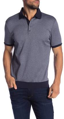 Vince Camuto Short Sleeve Button Down Polo