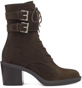 Fynndelle Lace Up Booties