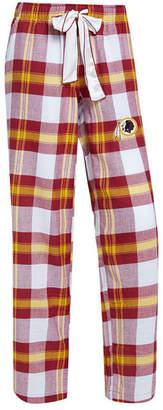 Redskins Concepts Sport Women Washington Headway Flannel Pajama Pants