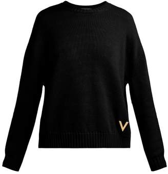 Valentino Cashmere Sweater - Womens - Black