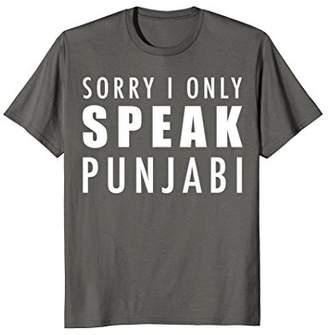 Punjabi Indian Speak Punjabi Quote T-Shirt