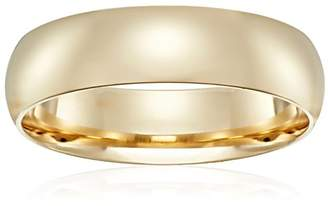 Standard Comfort-Fit 18K Yellow Gold Band