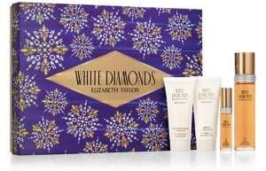 Elizabeth Taylor White Diamonds 4-Piece Eau de Toilette Gift Set