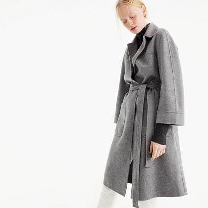 Collection double-faced cashmere coat