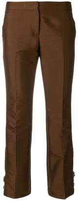 No.21 embellished cropped trousers
