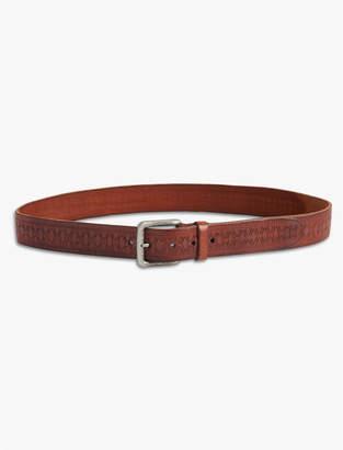 Lucky Brand Tooled Belt