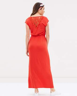 Dorothy Perkins Crochet Back Maxi Dress