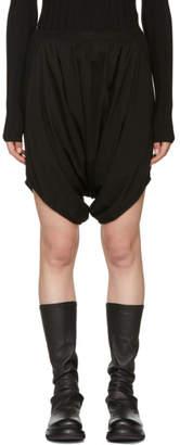 Rick Owens Black Mowgli Shorts