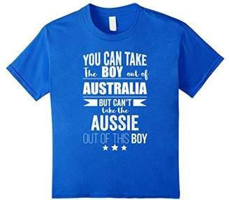 Can take the Boy out of Australia T-shirt Aussie Pride Proud