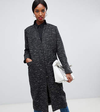Asos Tall TALL Oversized Coat in Textured Fabric