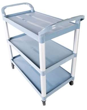Zimtown 3-Tier Rolling Kitchen Trolley Cart Island Storage Utility Service Dining Tool Cart
