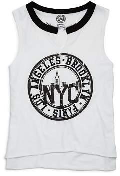 So Nikki... Girls' Brooklyn L.A. Paris Tank - Big Kid