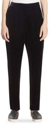 Vince Velvet Pleated Pants