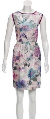 Anna Sui Floral Sleeveless Dress w/ Tags