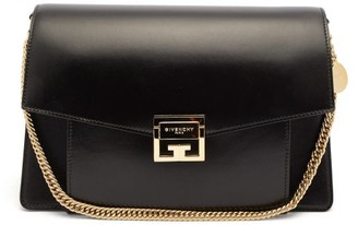 Givenchy Gv3 Medium Leather Shoulder Bag - Womens - Black