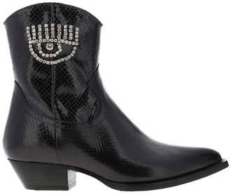 Chiara Ferragni Flat Booties Shoes Women