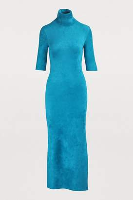 Balenciaga Short-sleeved maxi dress