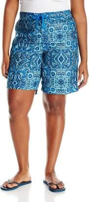 Kanu Surf Women's Plus-Size Bisma Boardshorts
