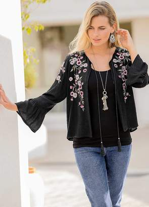 Together Embroidered Jacket