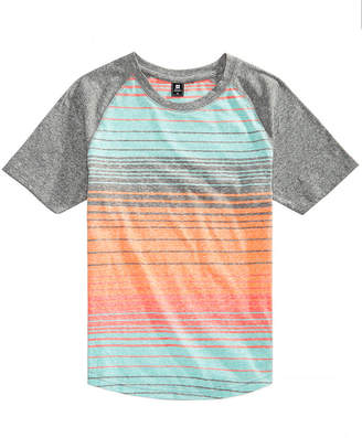Ocean Current Big Boys Striped Raglan T-Shirt