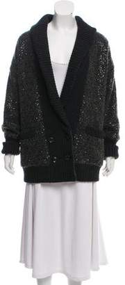 Diane von Furstenberg Embellished Long Sleeve Jacket