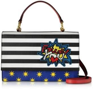 Alessandro Enriquez Pheme Pop Follow You Leather Top Handle Shoulder Bag