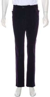 Tom Ford Corduroy Straight-Leg Pants