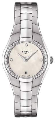 Tissot Women's T-Round Diamond Bracelet Watch, 26mm - 0.015 ctw