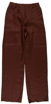 Hermes High-Rise Wide-Leg Pants