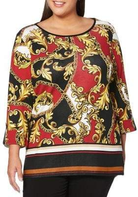 Rafaella Plus Printed Tunic