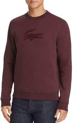 Lacoste Tonal Flocked Logo Fleece Sweatshirt