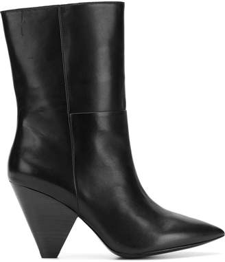 Ash tapered heel ankle boots
