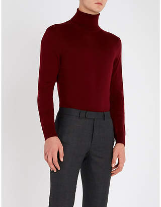 Sandro Turtleneck fine-knit wool jumper